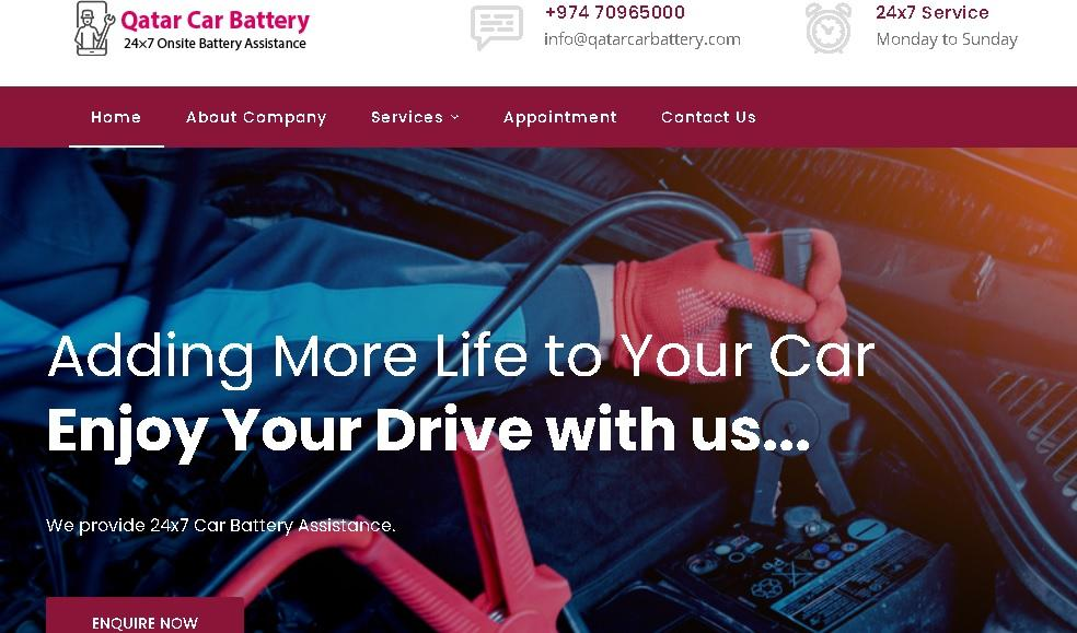 Car Battery Replacement Service at your location c