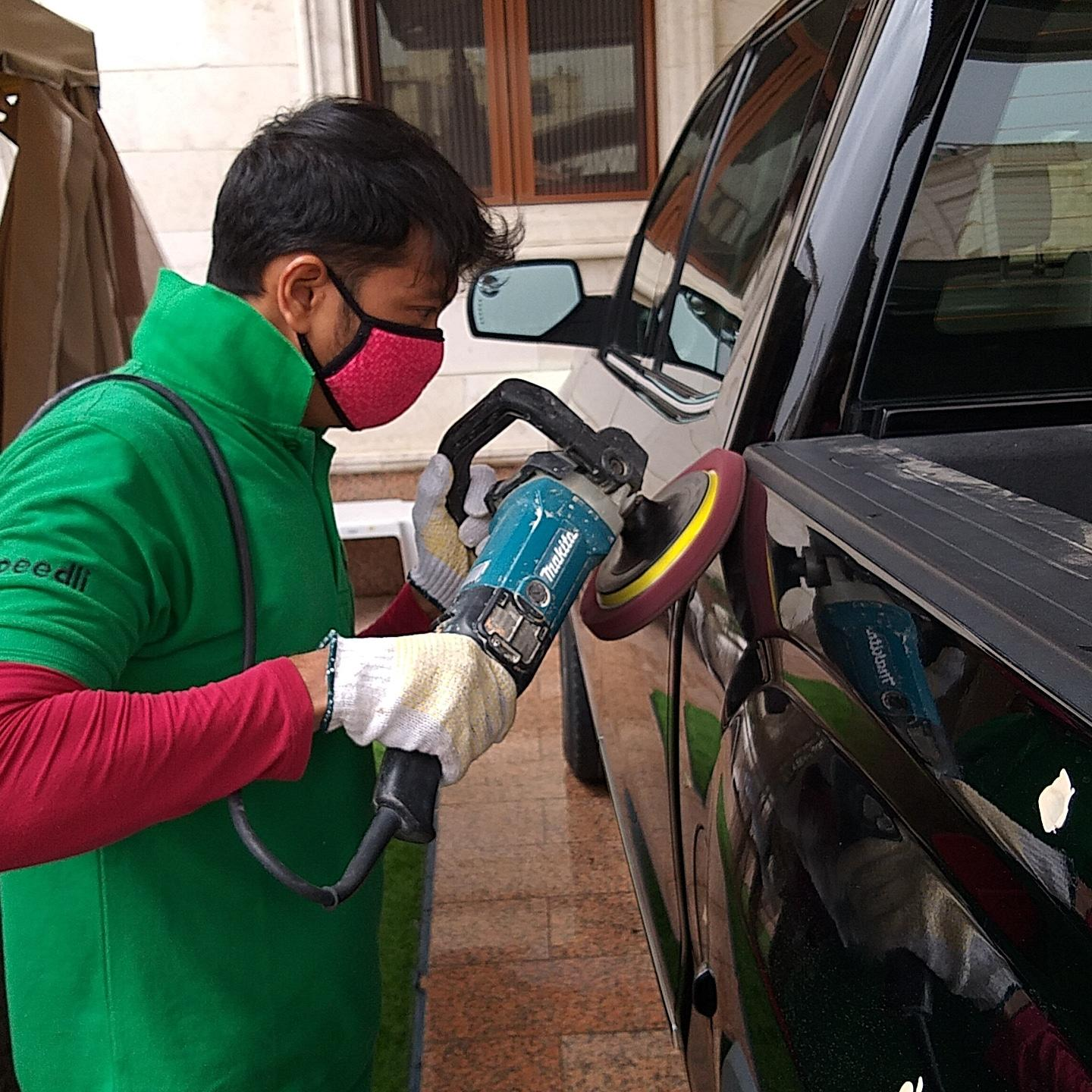Car Complete Exterior and Interior Polishing in Do