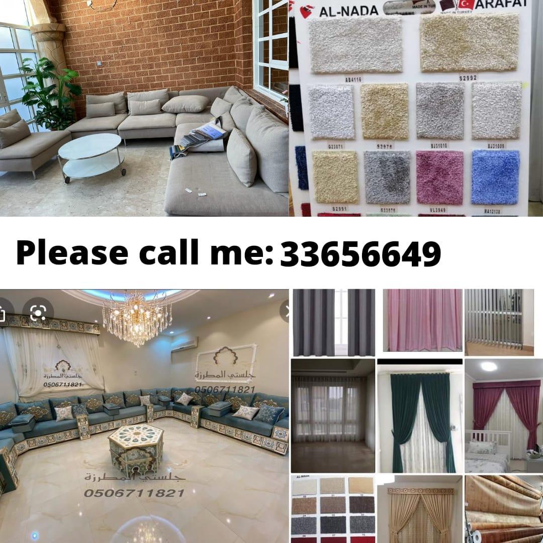 We make new sofa and Repairing, carpet selling fix