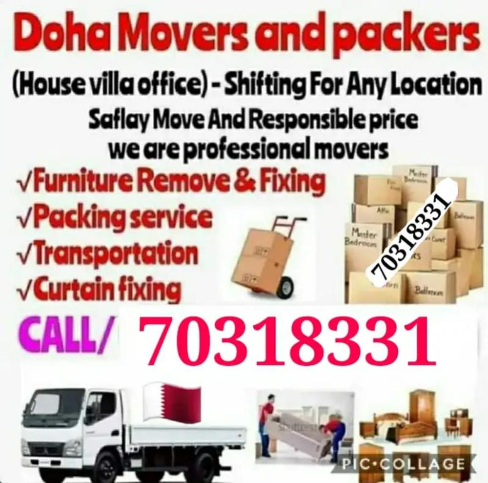 Moving and shifting at best price. Please contact