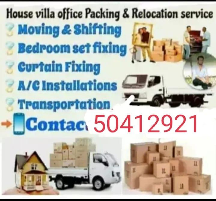 Shifting and moving and carpentry. Please contact