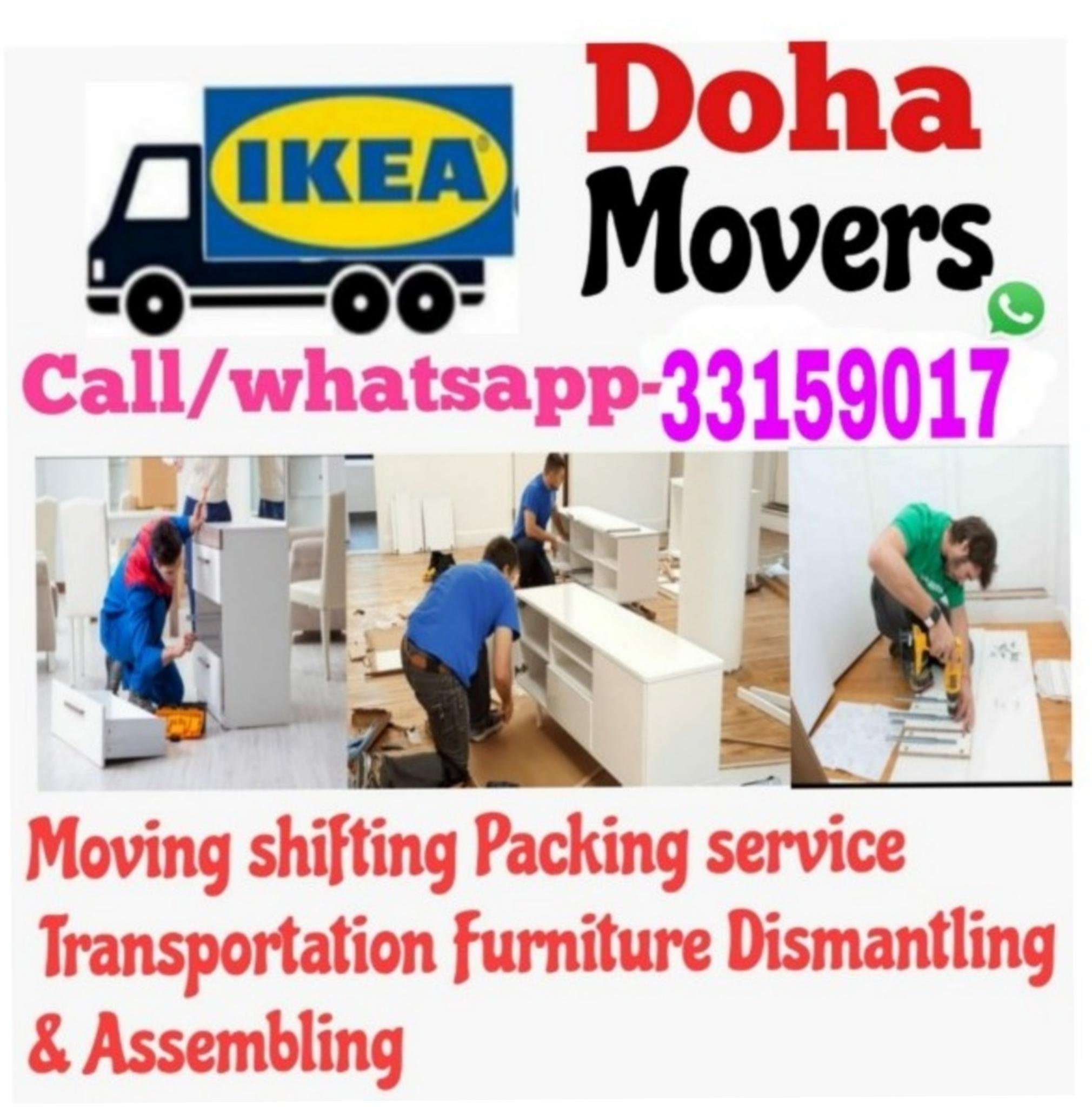 Moving and Shifting all over Qatar. 33159017 Good