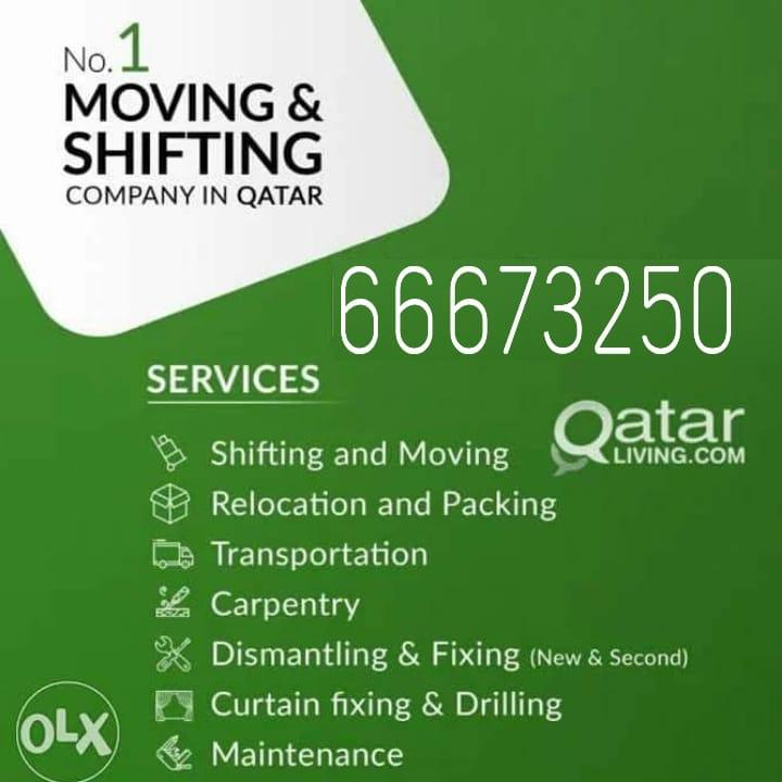 Low price movers and packers- Please call 66673250