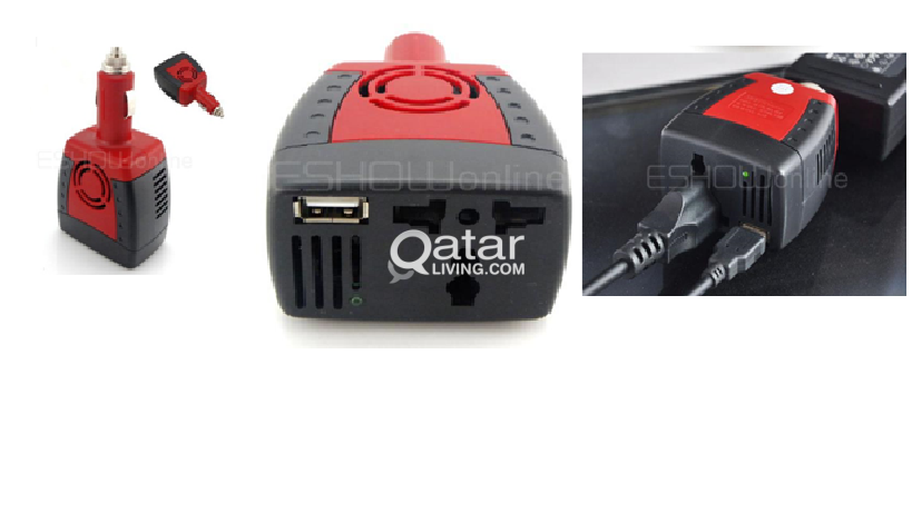 Car Charger For Laptop محول للتيار لشحن اللابتوب واجهزة أخرى من