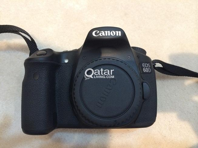 Canon EOS 60D 18 MP CMOS Digital SLR Camera with 3 0-Inch