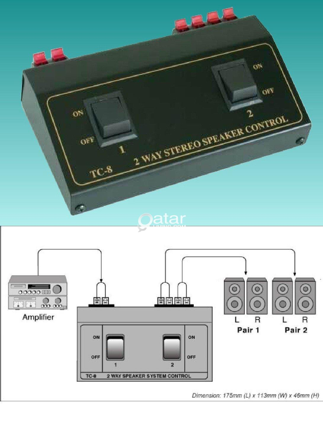 I Am Looking For A 2 Way Or 4 Stereo Selector Switch Qatar Living Title