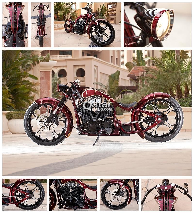 Yamaha V-Star 650 Custom Chopper Super Cool Bike HUGELY Discounted