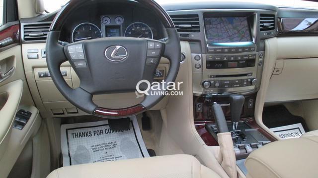 Lexus lx 570 2011 full option