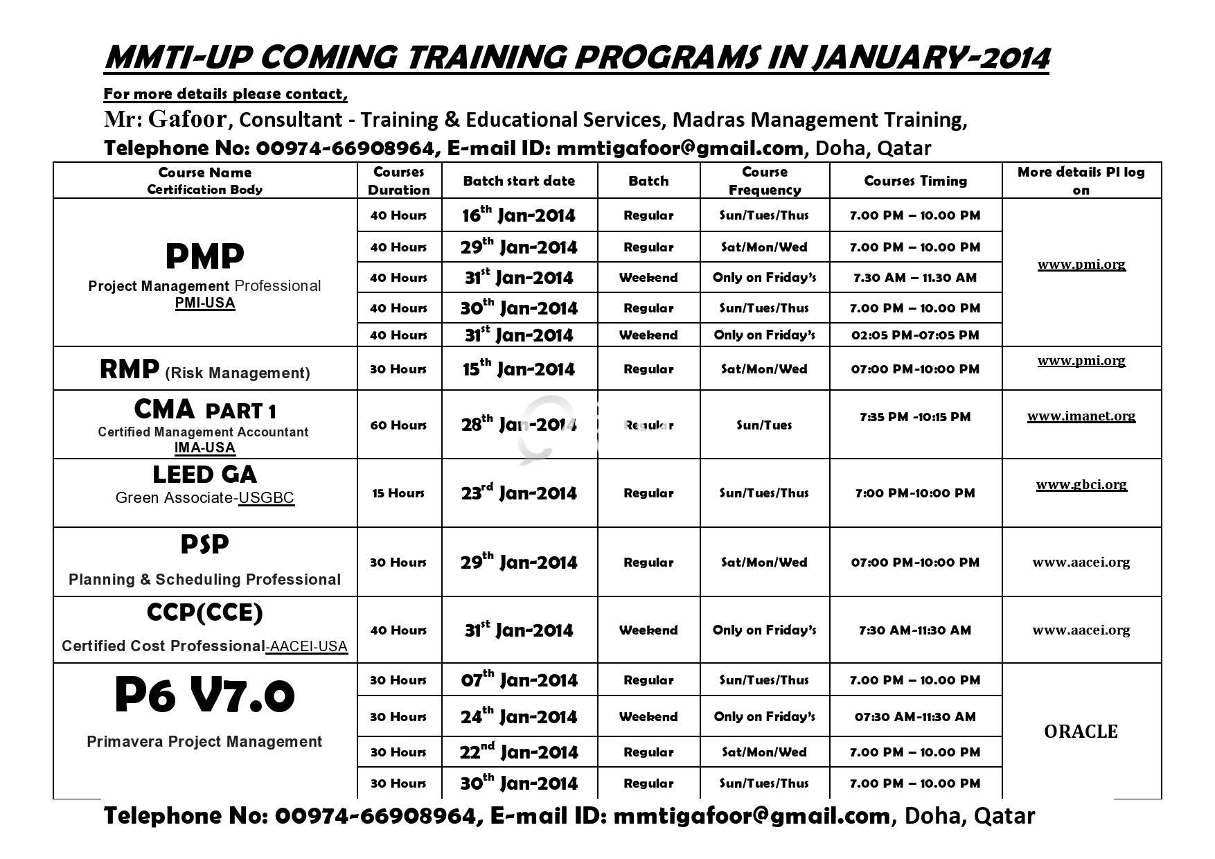 Leed Ga Training By Usgbc Usa January 2014 Qatar Living