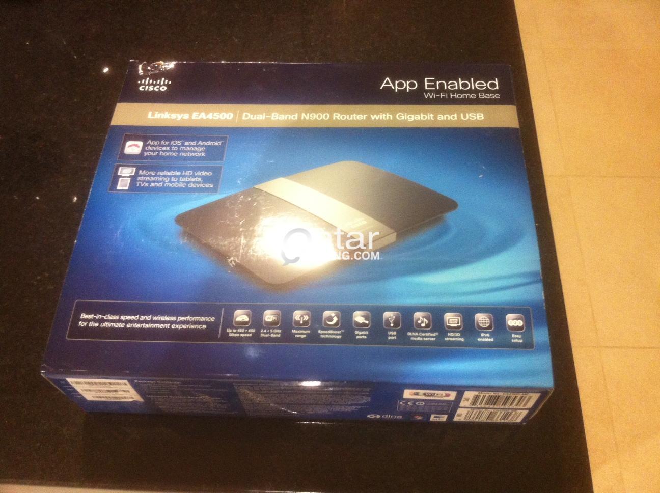 Linksys EA4500 Dual Band N900 Router | Qatar Living