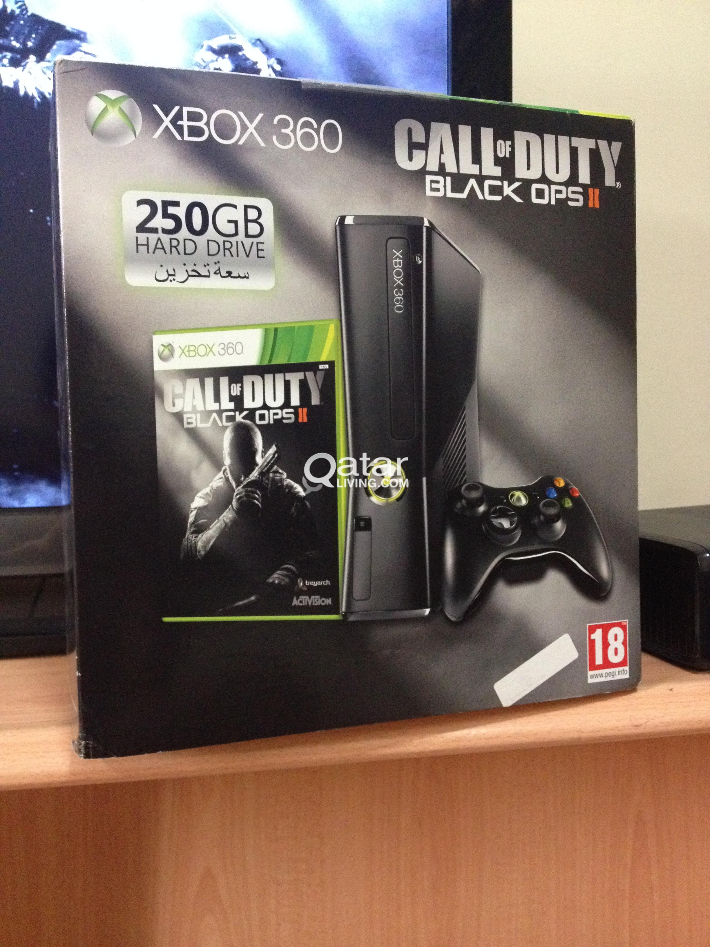Xbox 360 with black ops 2 (3 months old) Excellent Condition