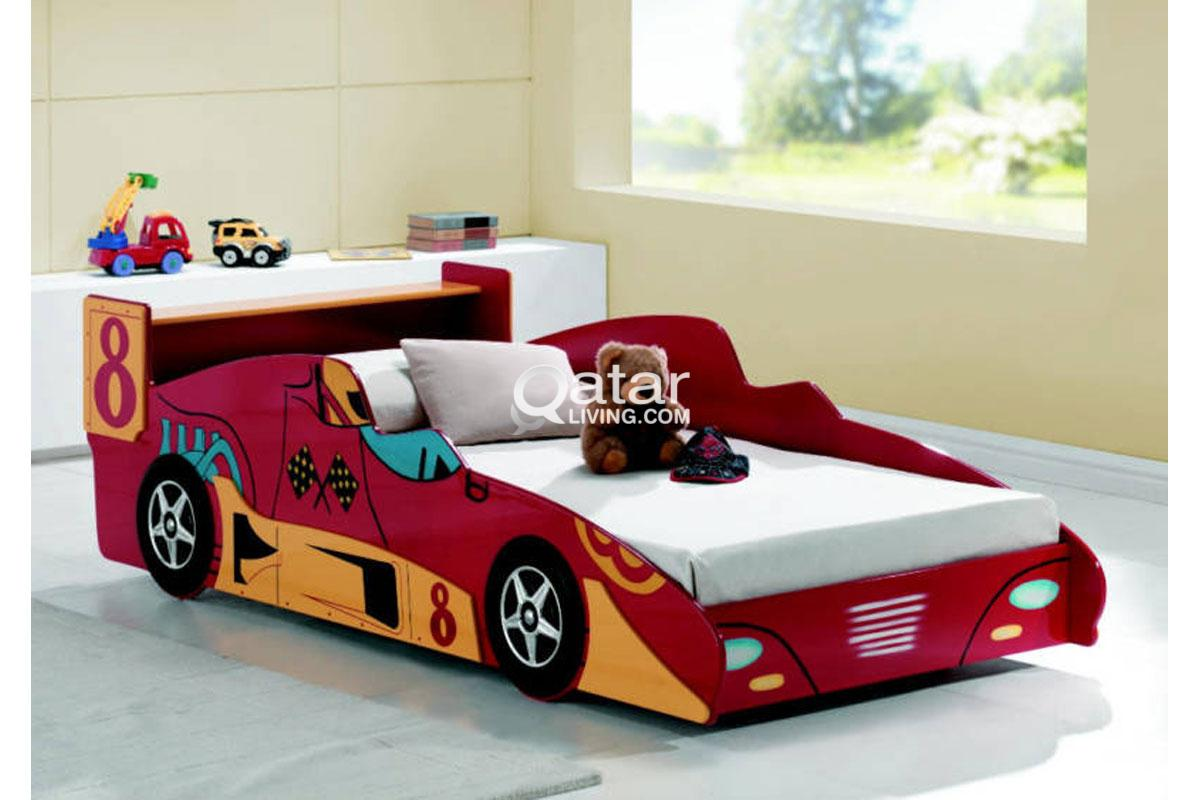 Kids Car bed and double decor steel bed   Qatar Living for Kids Car Double Bed  35fsj