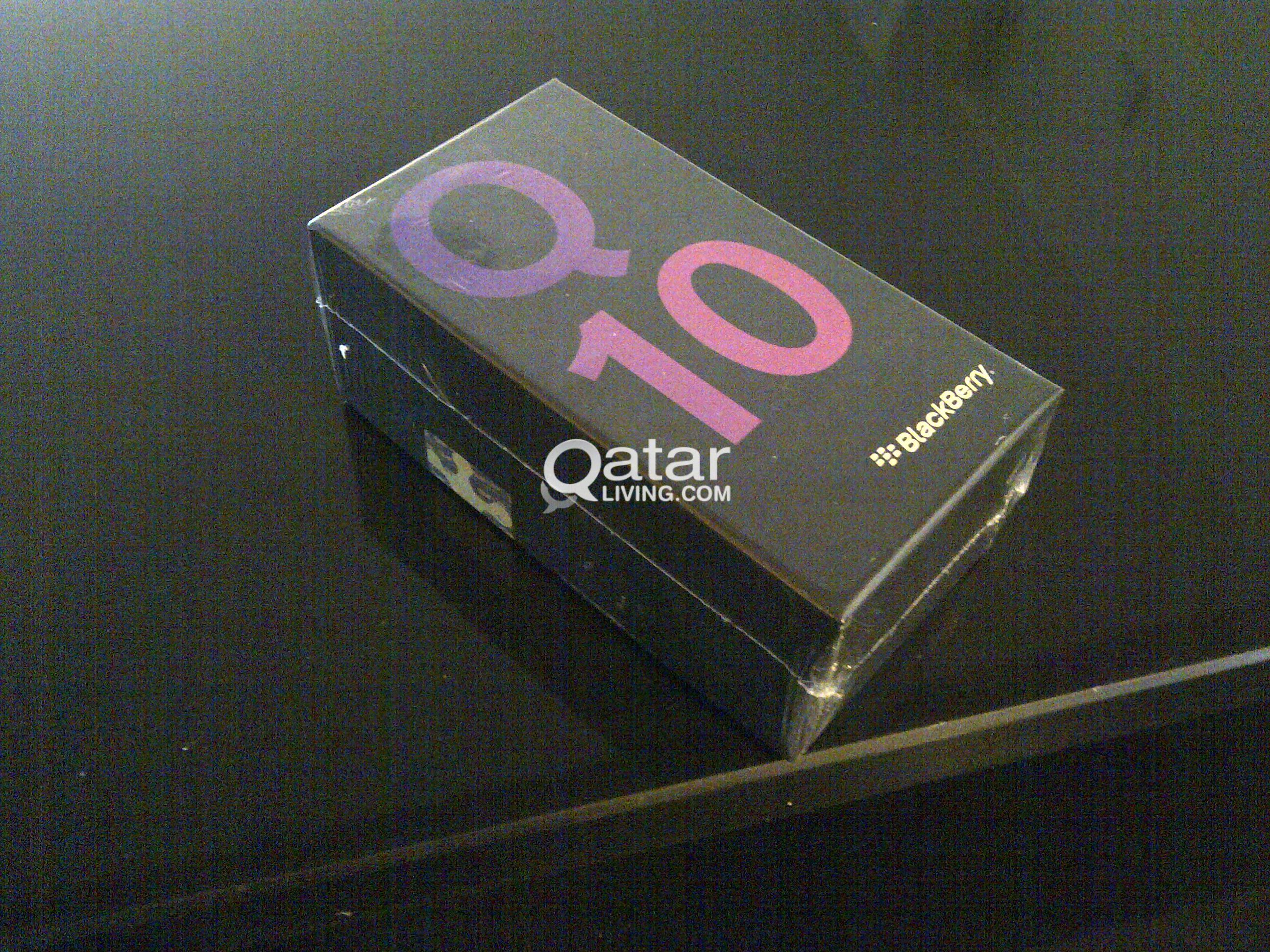 Blackberry Q10 Black Brand New Unopened With Starlink Seal Title