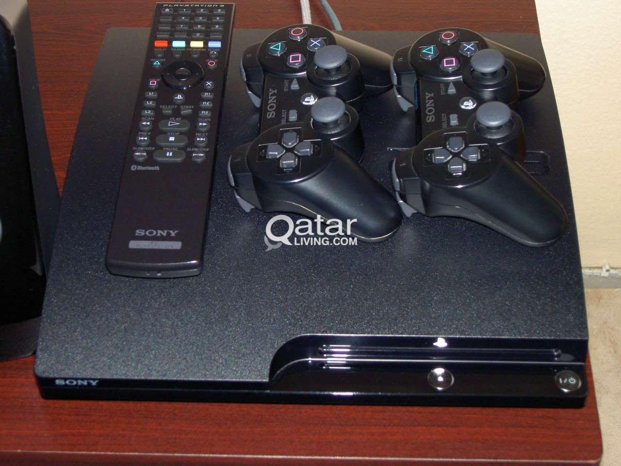 PlayStation 3 320GB + GTA 5, NFS Rivals, Far Cry 3, Call of