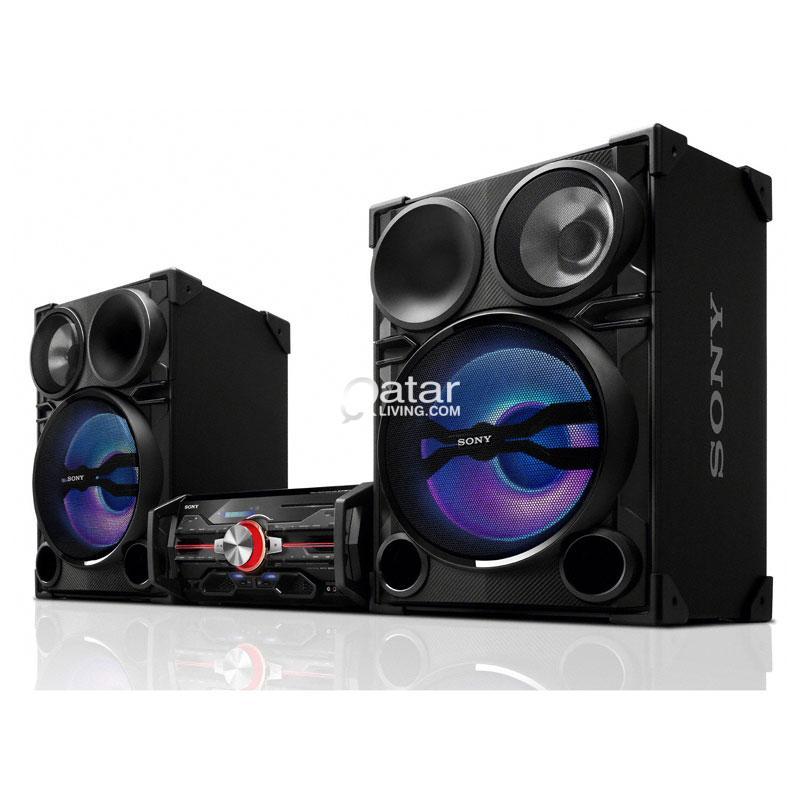 Sony Mini Hi Fi System 22000 Watts Sound Qatar Living