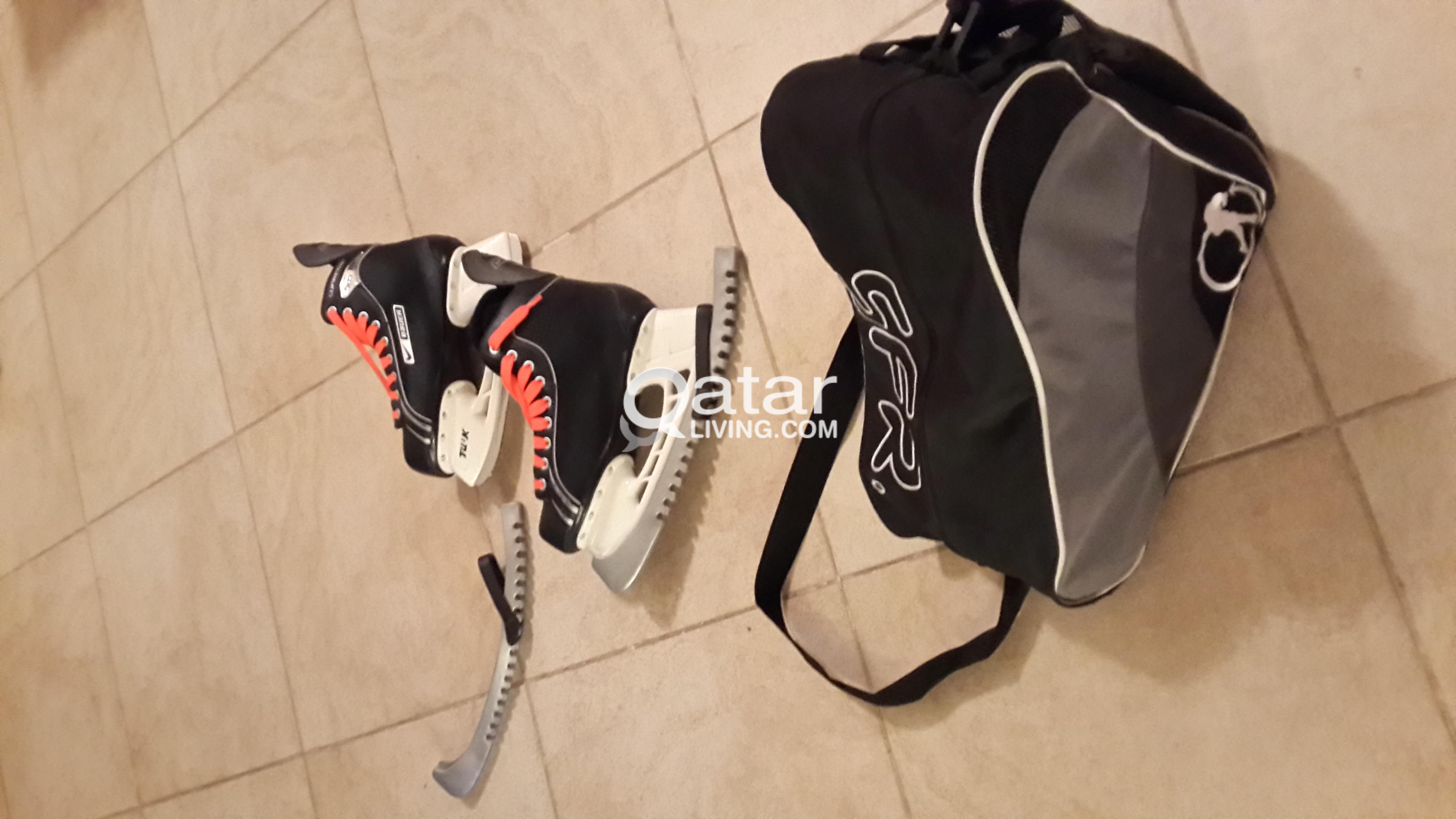 Qué Profesor Tutor  Nike Bauer supreme ONE 05 ice skates | Qatar Living