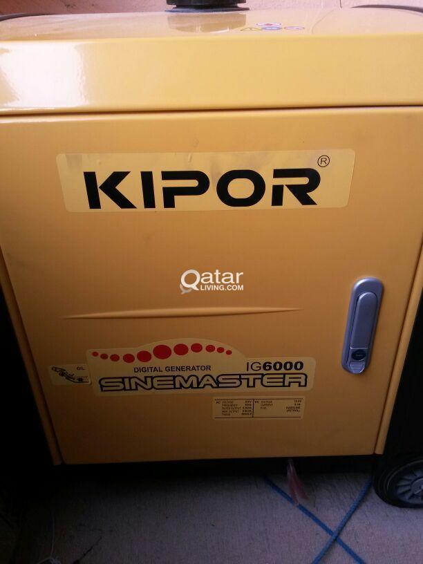 Kipor Generator -IG6000 -230V | Qatar Living