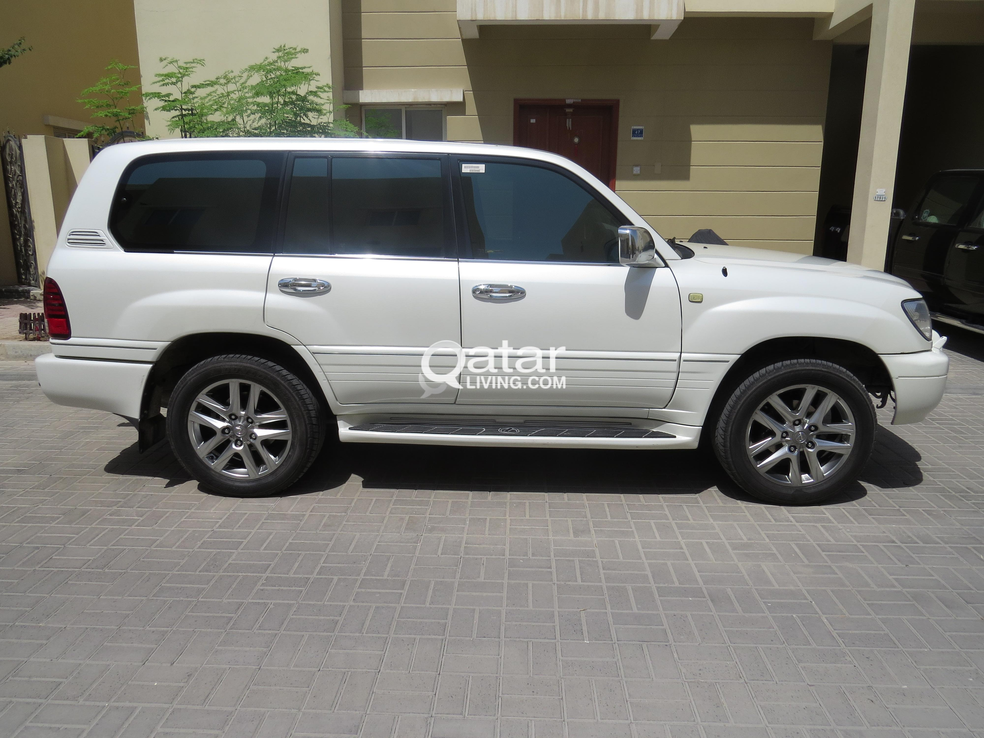 sale advert lx for vehicles white living lexus qatar title