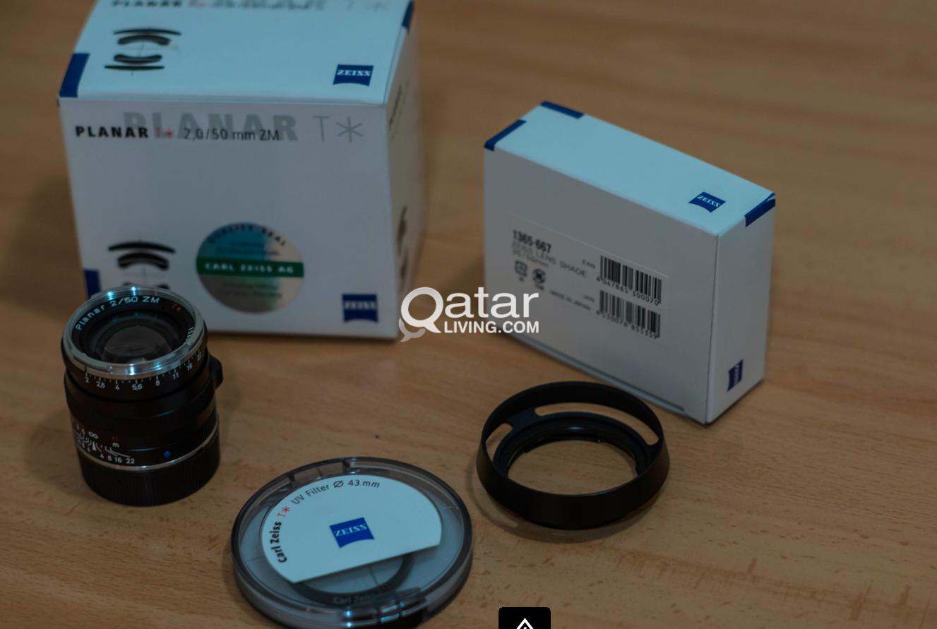 Carl Zeiss ZM 50mm F2 0 For leica/Sony NEX/Fuji X | Qatar Living