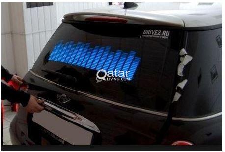 Cool LED Music Equalizer for Cars / 4x4   Qatar Living