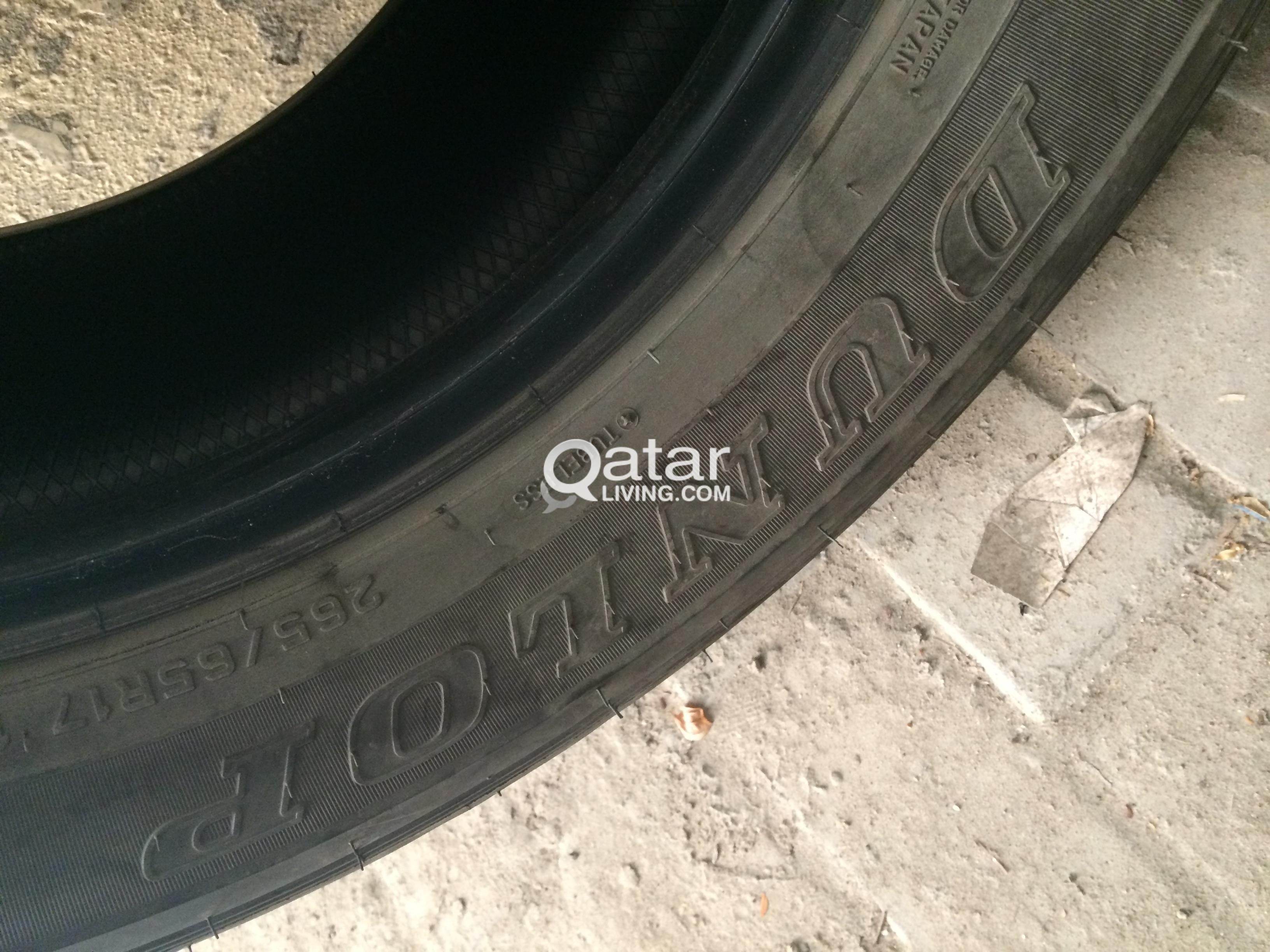 dunlop tyres ( MADE in japan) good condition   Qatar Living
