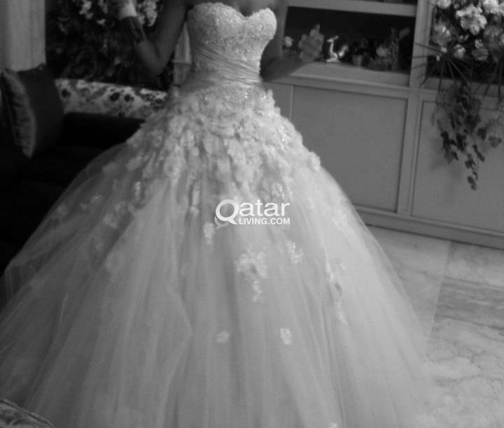 wedding dress tailor of design by zuhair murad to miss lebanon