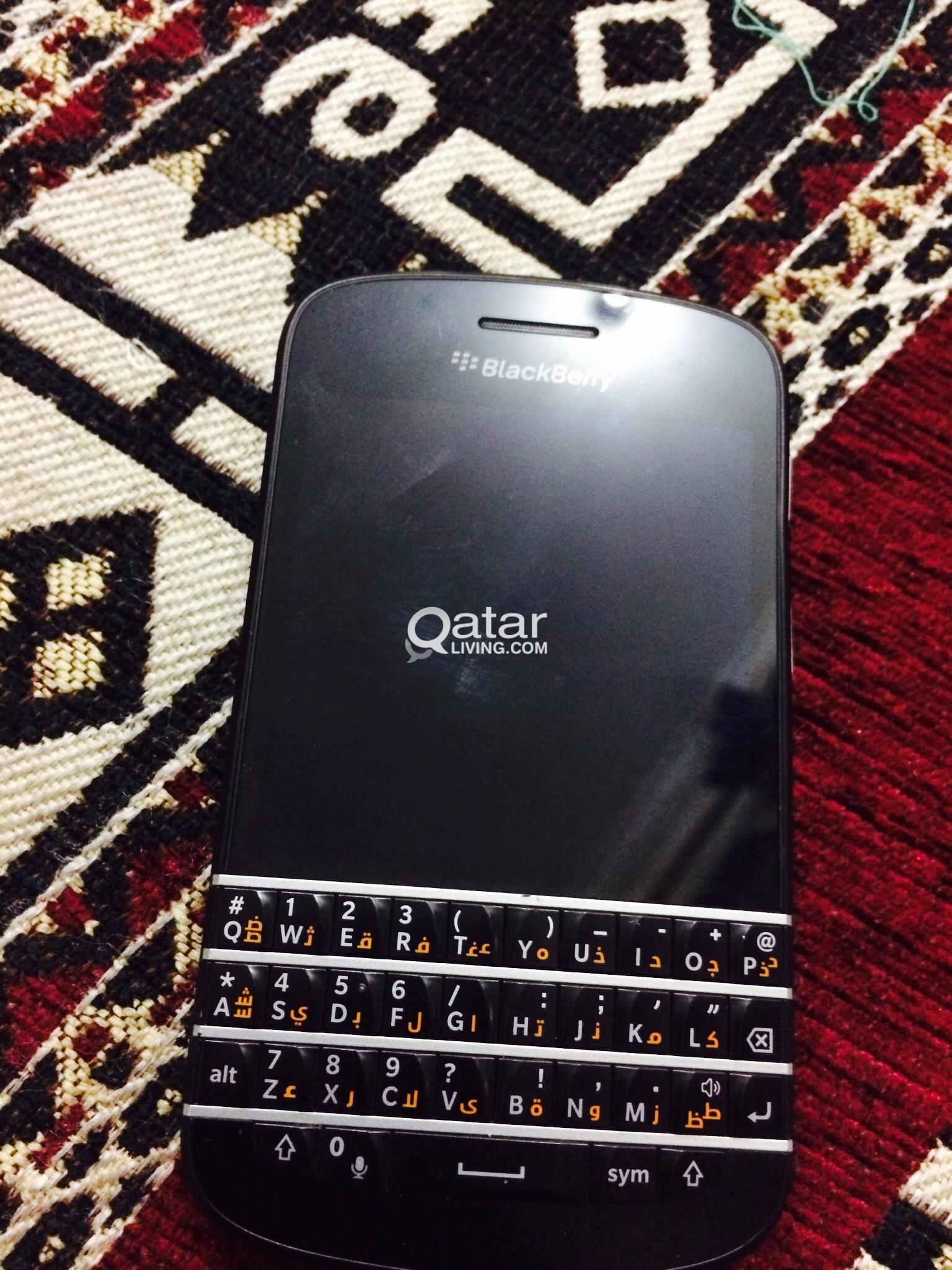 Blackberry Q10 Black | Qatar Living