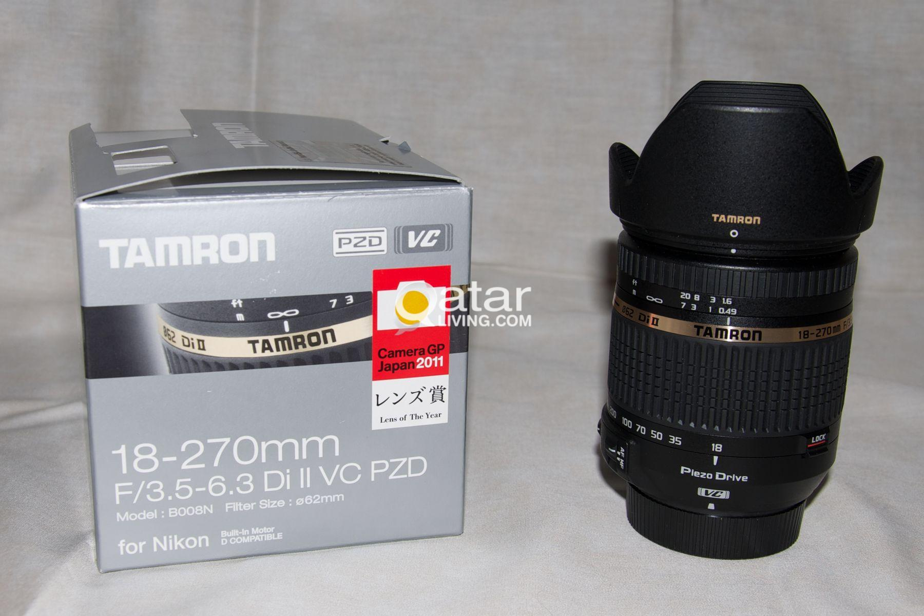 Tamron 18 270mm F 35 63 Di Ii Vc Pzdfor Nikon Dslr Exreme Zoom Af Pzd For Canon Title