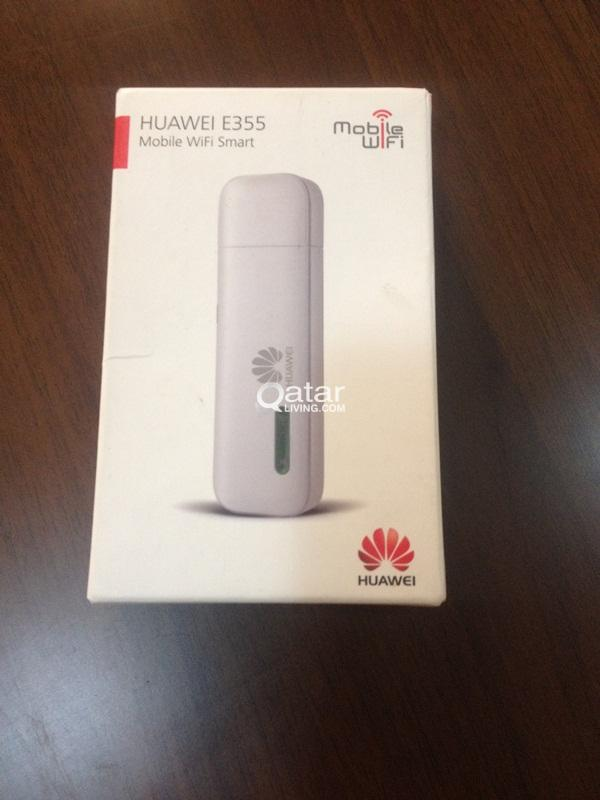 HUAWEI E 355, Mobile WiFi smart with 3 recharge ca