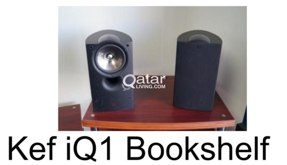 KEF front speaker and Klipsch center speaker   Qatar Living