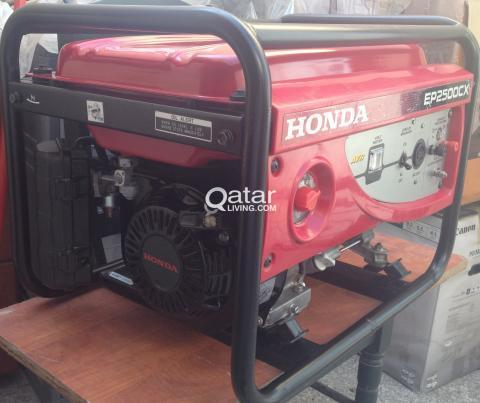 GENERATOR (HONDA) EP2500CX | Qatar Living