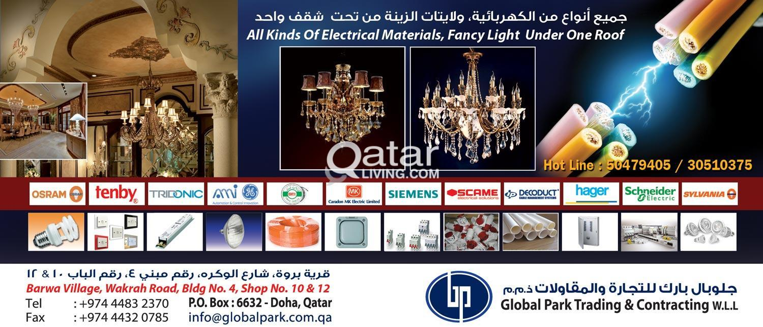 Electrical Material Suppliers and Fancy Light | Qatar Living