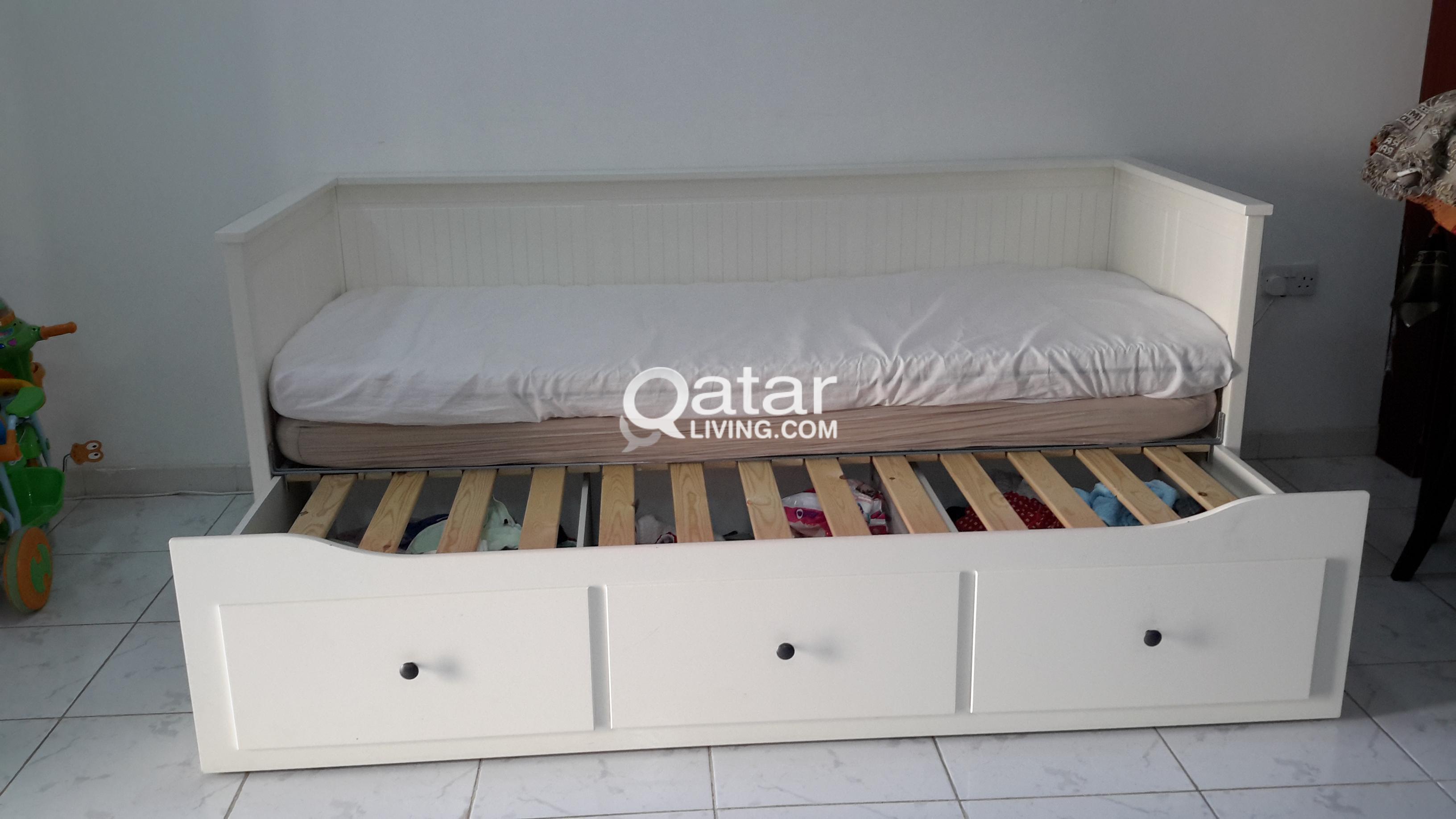 Ikea Made Sofa Cum Bed And Storage Qatar Living