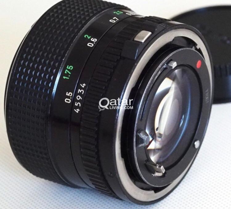 Canon FD 50mm 1 2 lens | FDn 50 f1 2 + Canon FD Lens to EOS EF Body