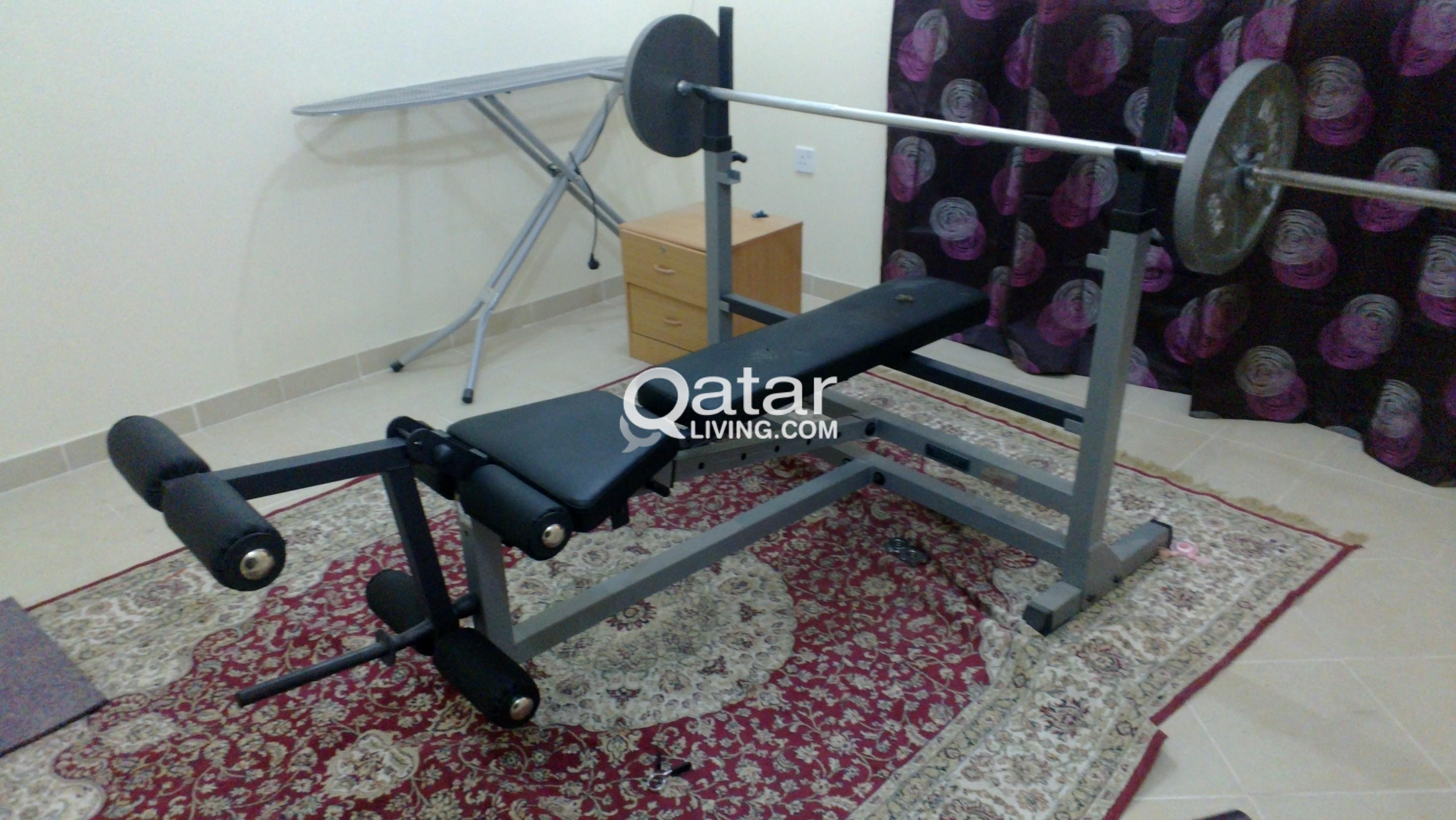 multipurpose bench for workout grey multi gym foldable weight sale es use home product p inthemarket