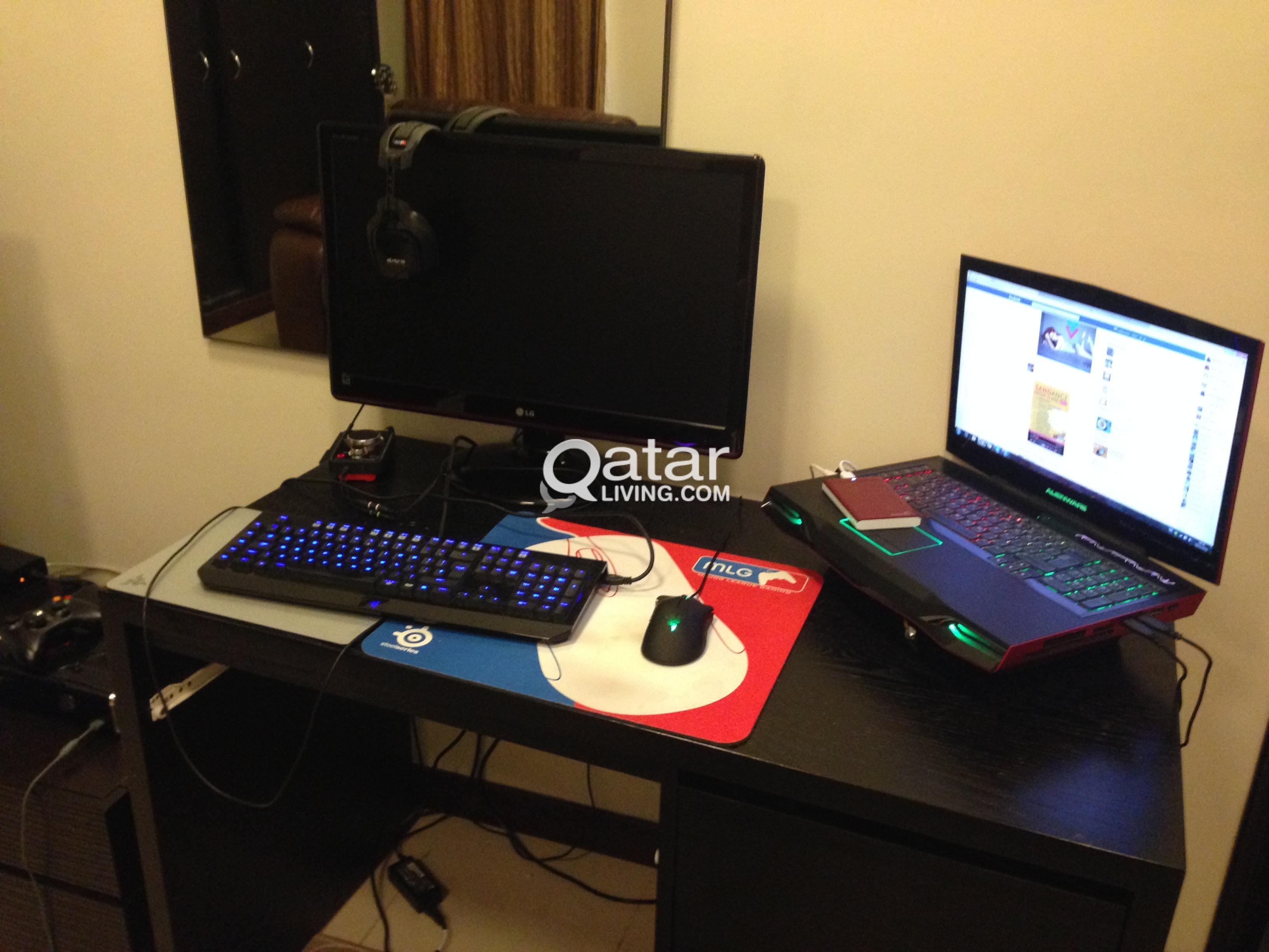 Alienware M18x i7-2670QM, Astro Gaming Headset, LG Gaming
