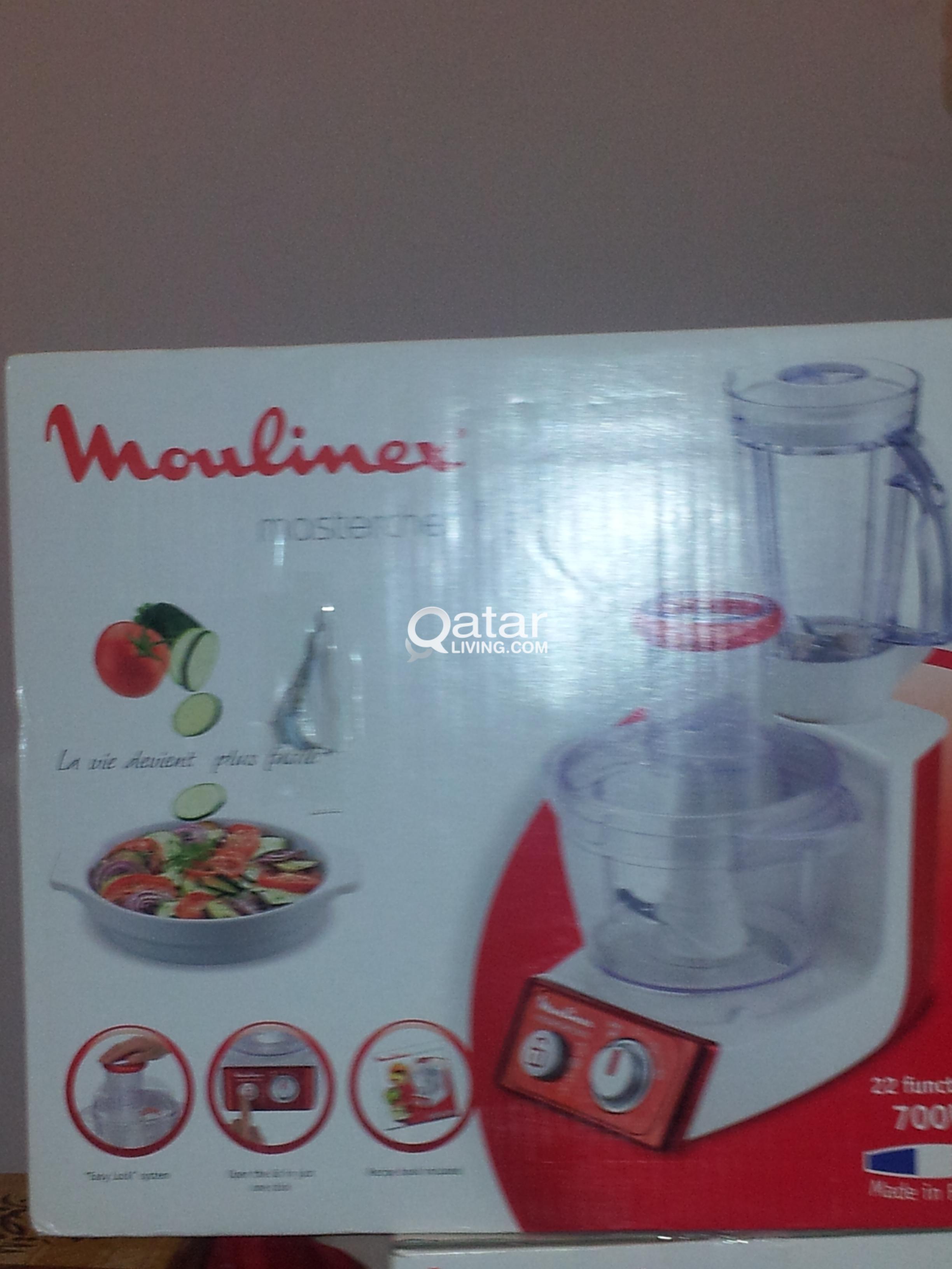 Brand New Moulinex Masterchef 3000 & Moulinex Odacio 3   Qatar Living