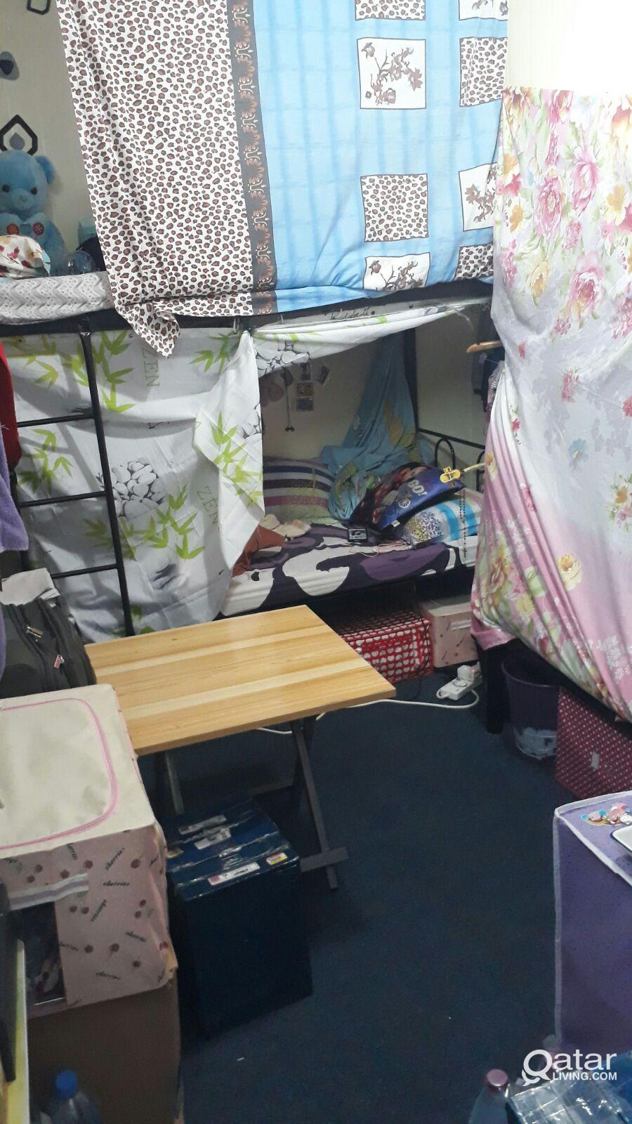 bed space for rent filipino ladys