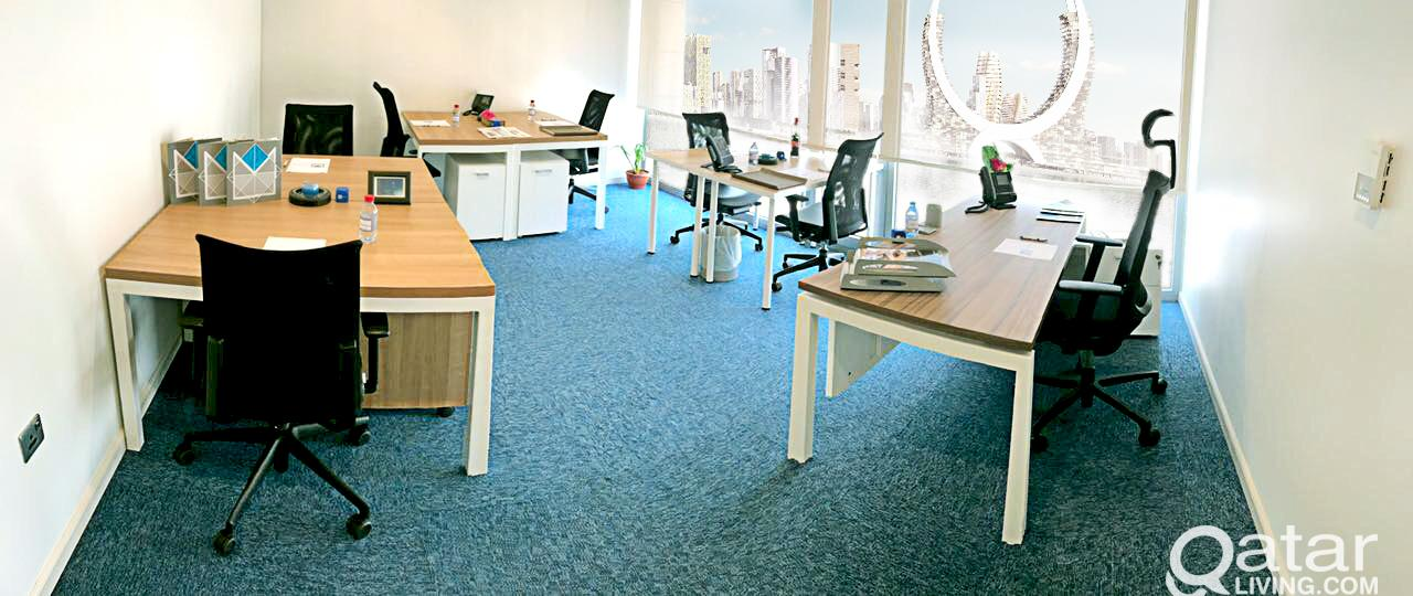 Trade License & furnished Offices at Markaz