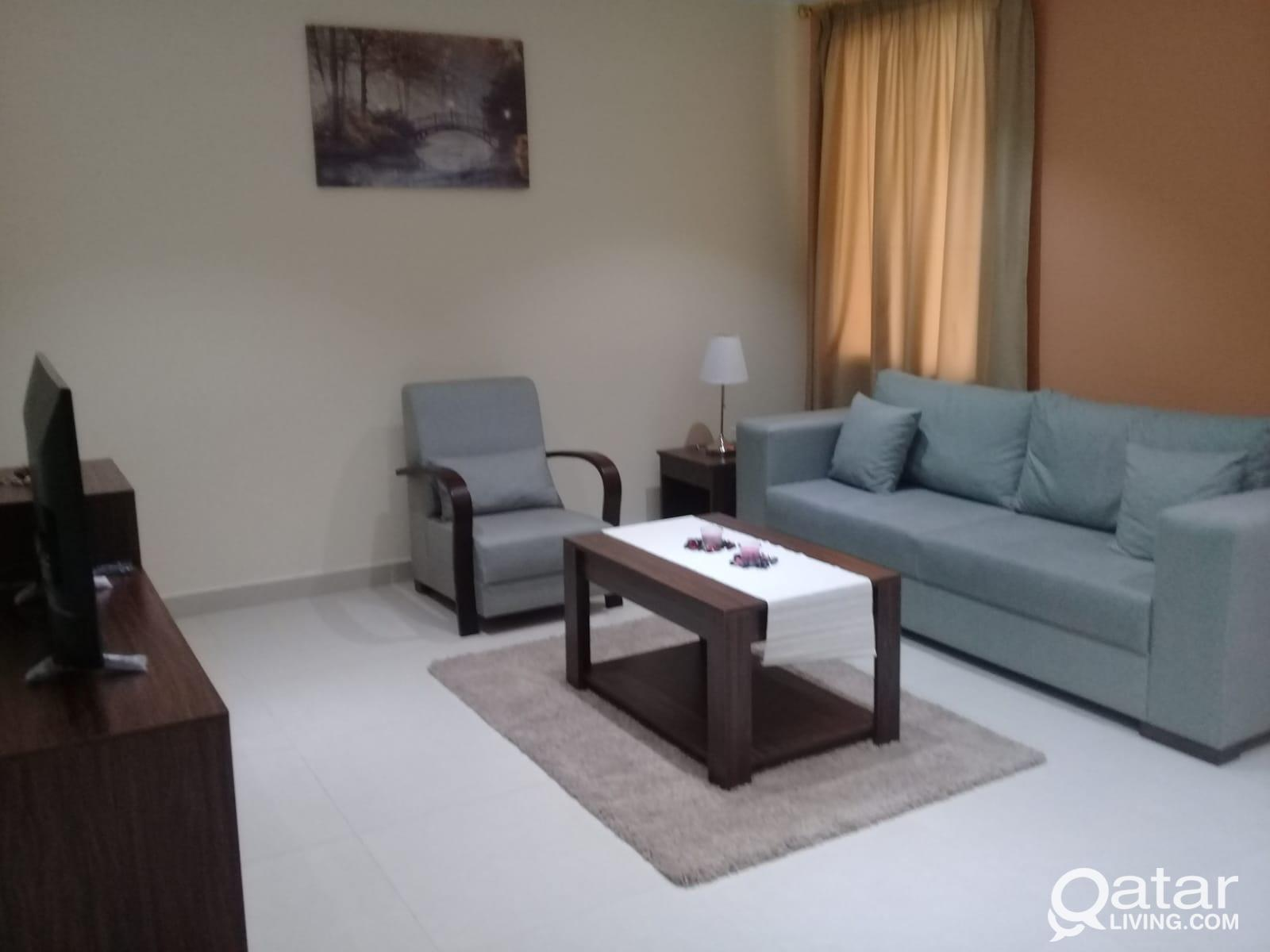14 Months Contract!-Fully Furnished One Bedroom wi