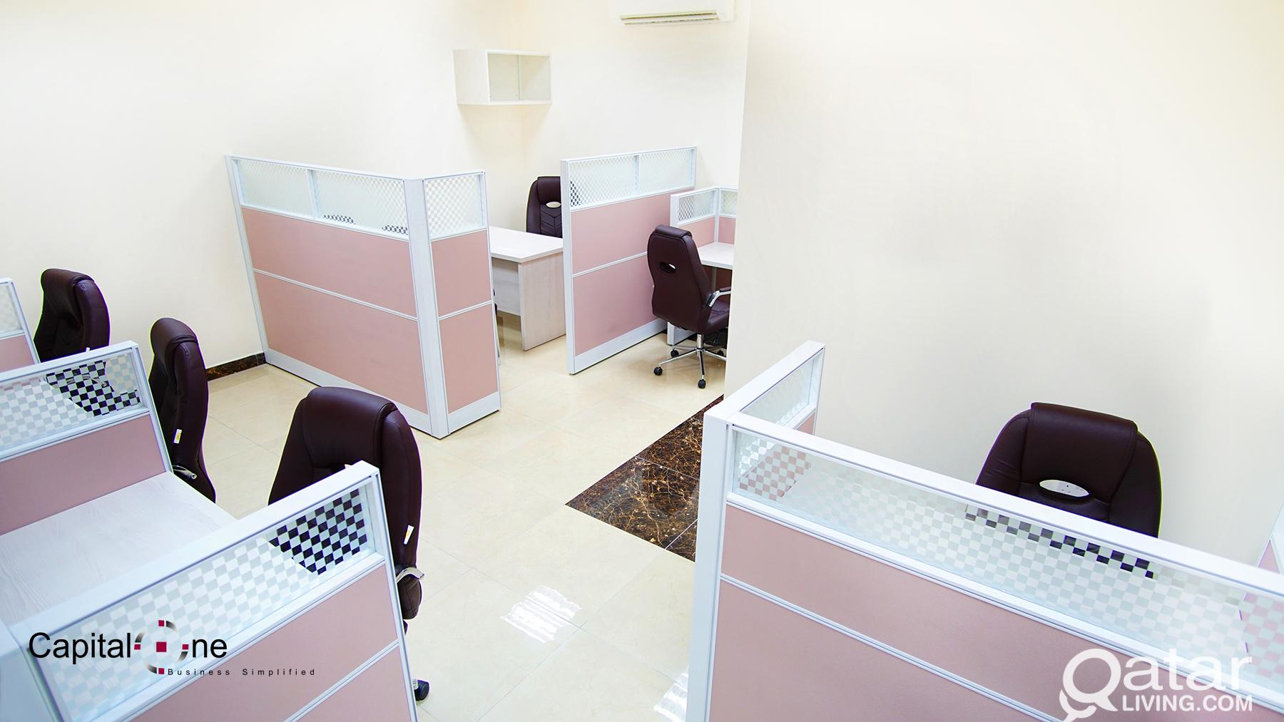 Ready to Move-in! Office Space in Salwa Road (incl