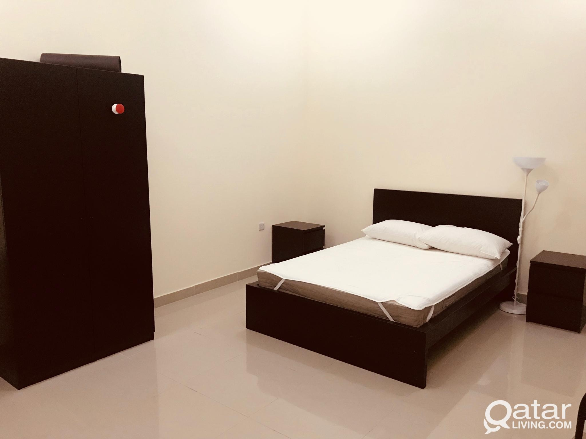 15 SPACIOUS STUDIOS FULL FURNISHED  WITH ALL SERVI