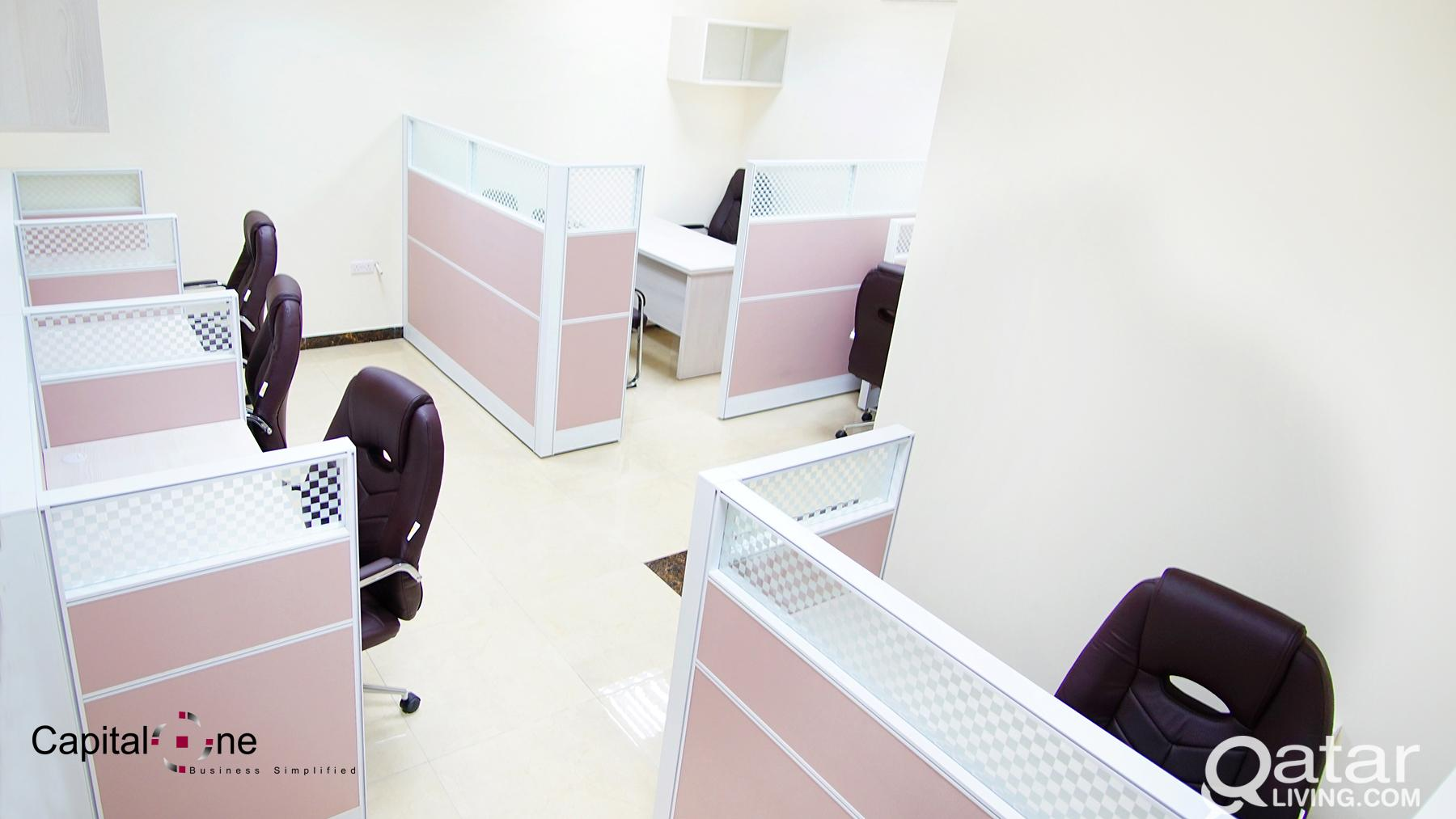 F/F Office Space - including W&E + FREE Internet (