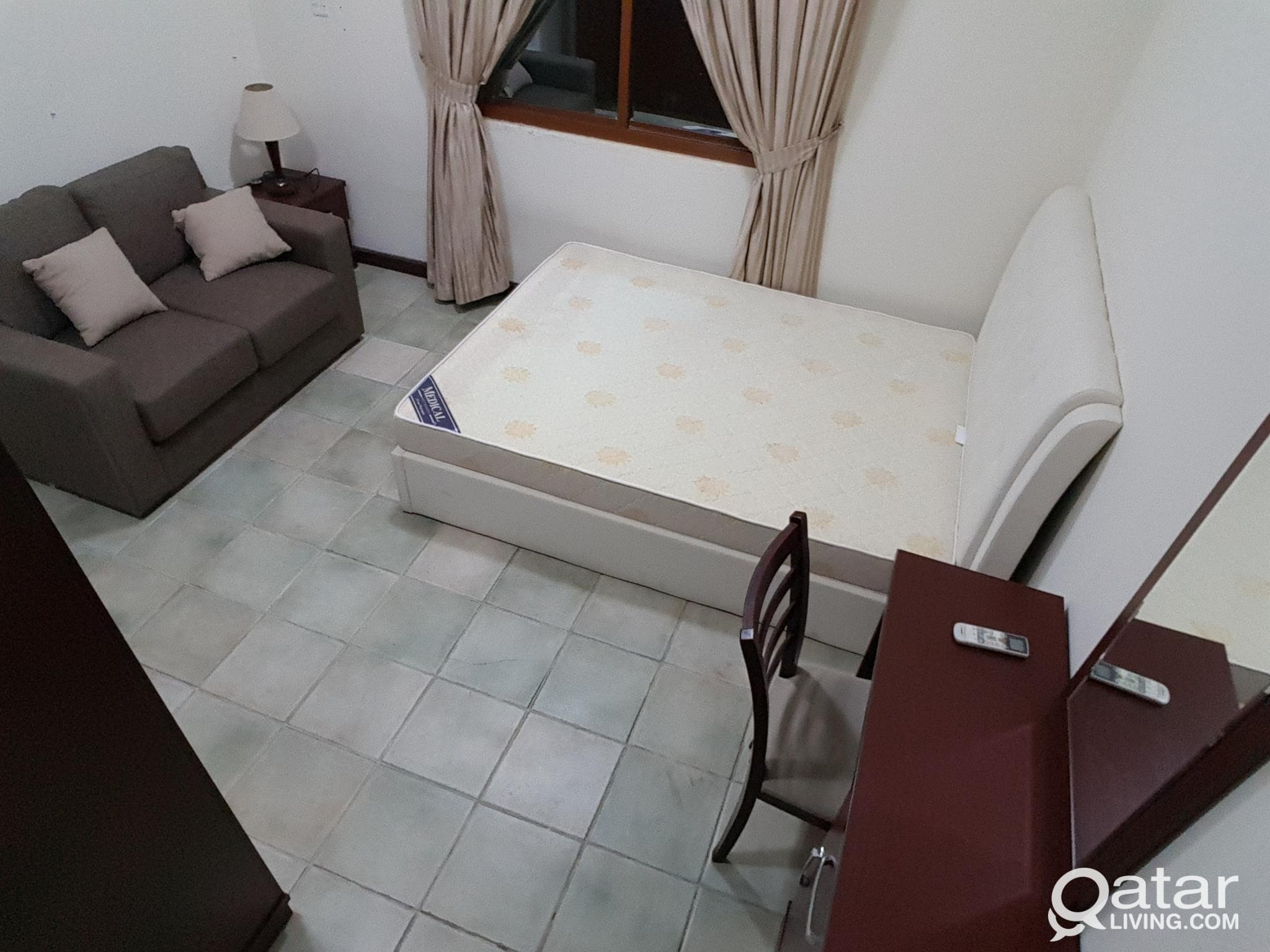 Furnished exe. Bachelor rooms in mansoura