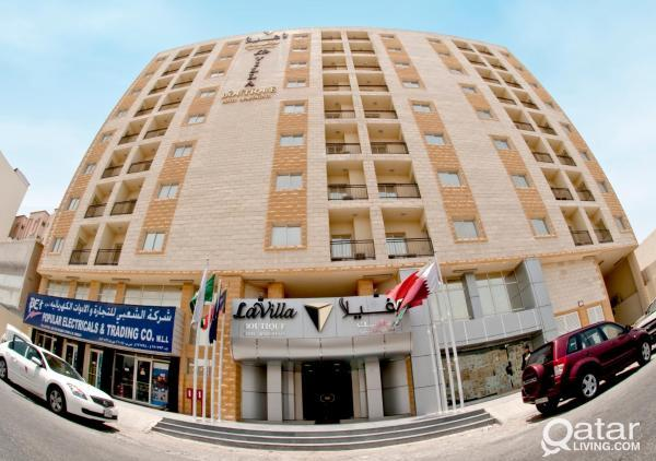 **LA VILLA INN Hotel Apartments** Behind Crown Pla