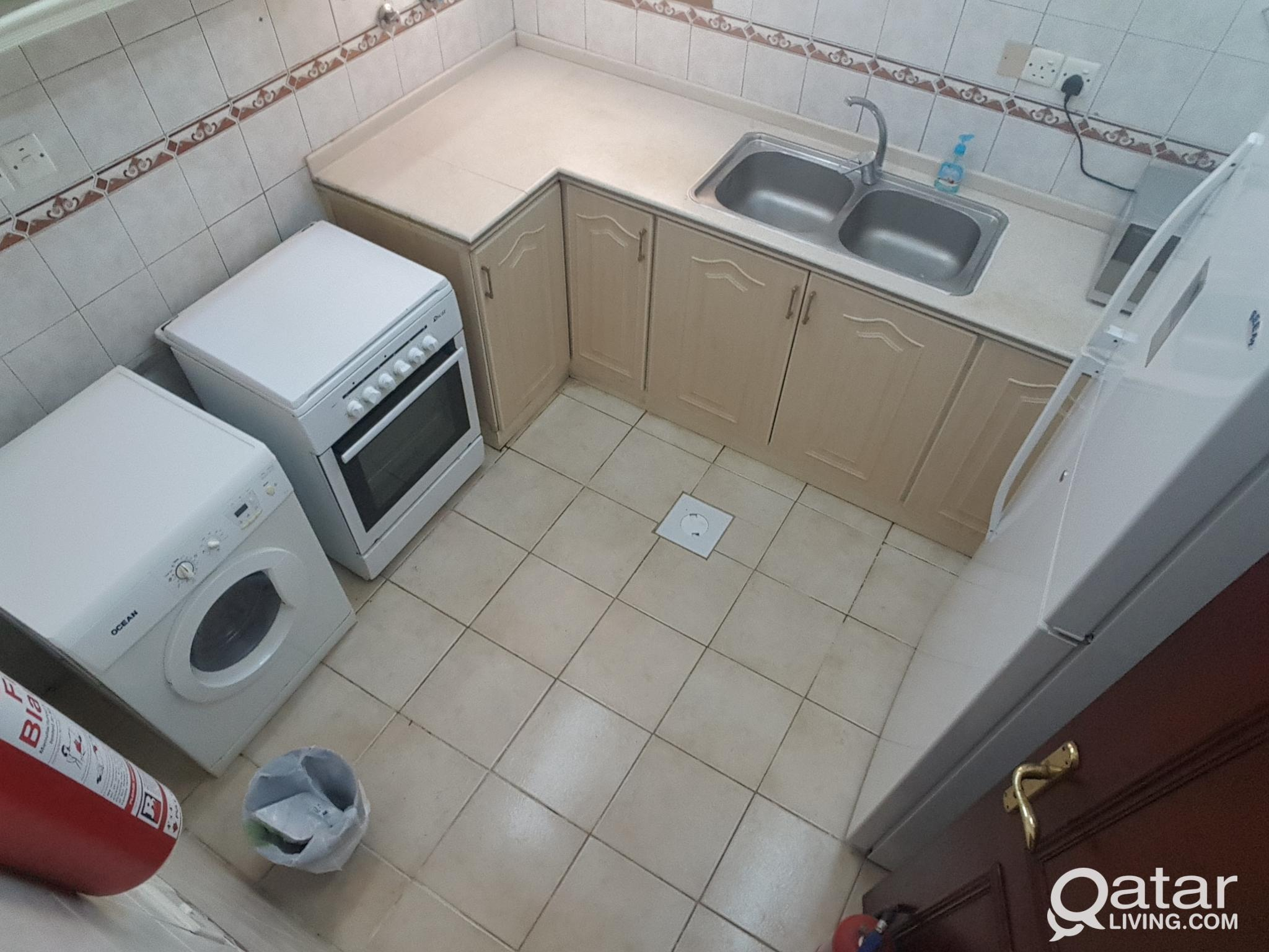 Furnished bachelor room in Mansoura behind Alsaad