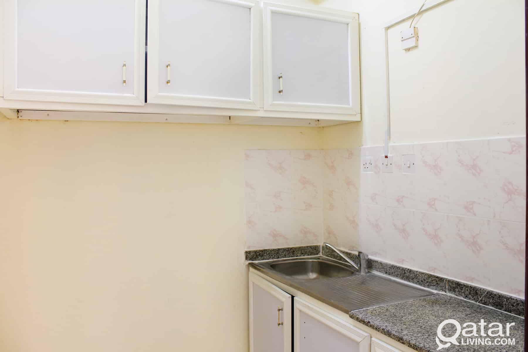 FAMILIES only - 2BHK (Unfurnished) W/E included