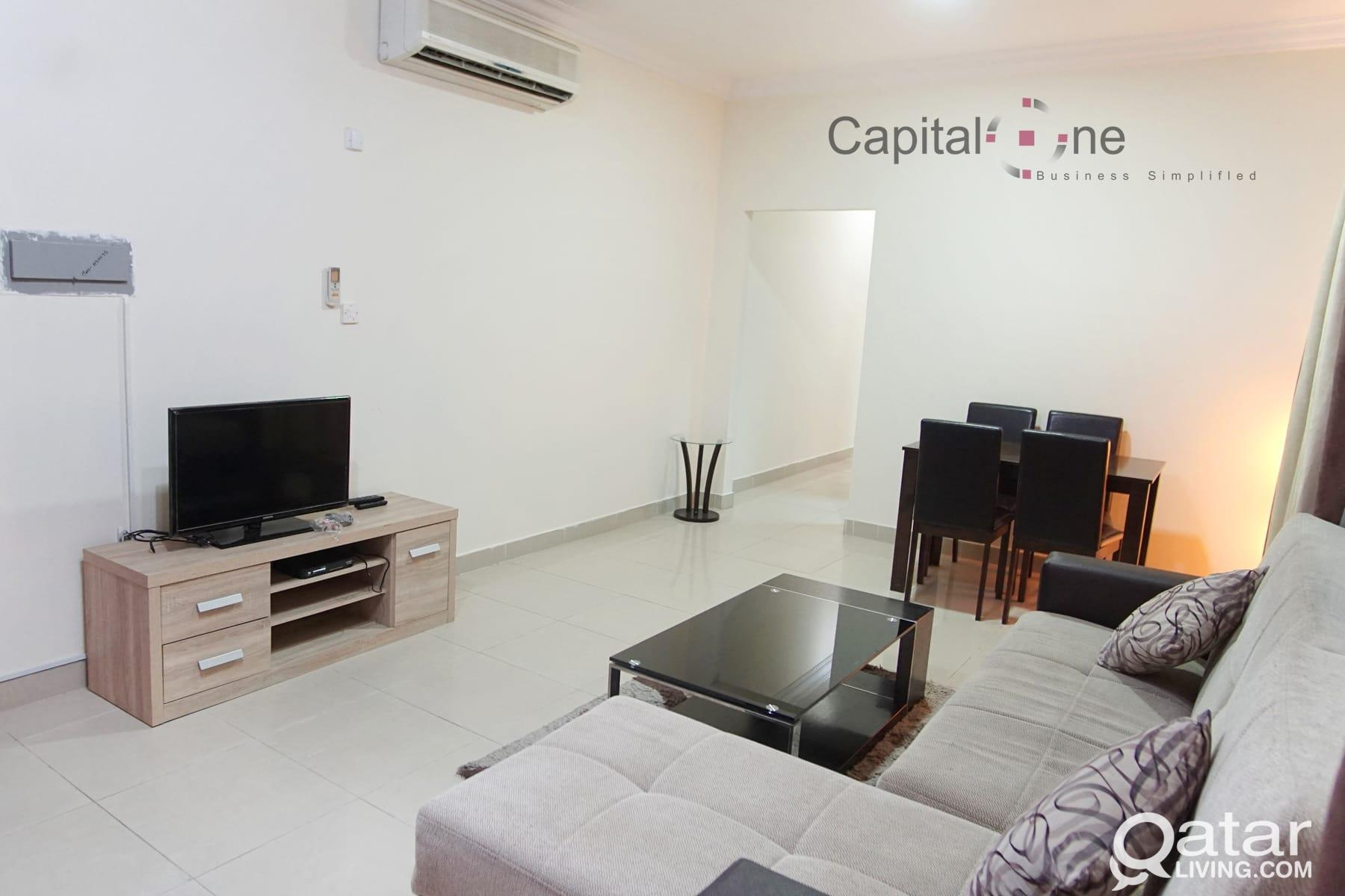 Furnished 1BHK nr VIP Signal (utilities included)