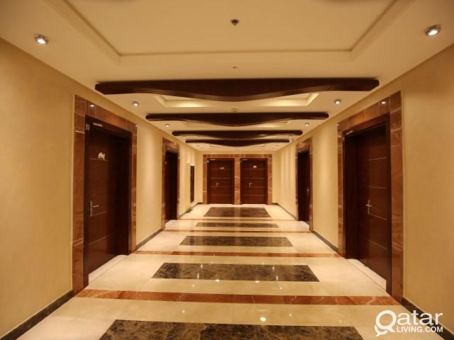 Fitted office for rent in Najma