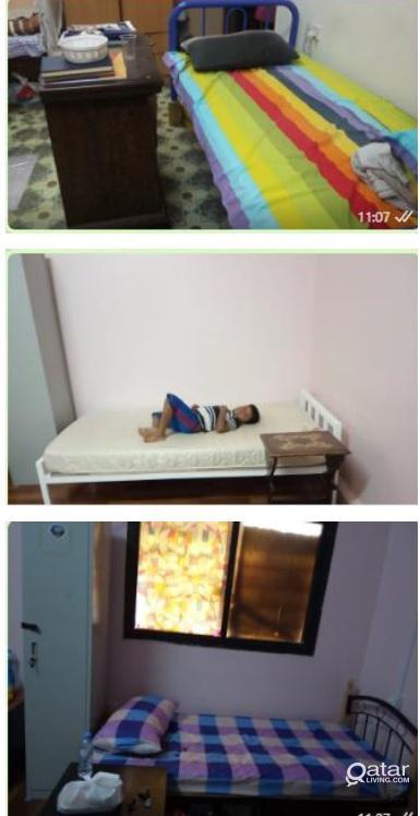 Executive Bachelor Single Room/Bedspac for Old air